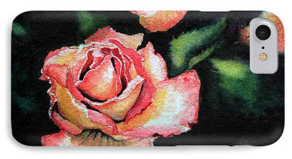 Roses I Phone Case by Hanne Lore Koehler