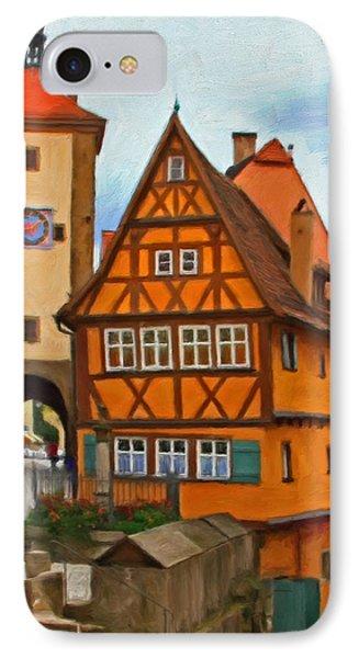 Rothenburg Phone Case by Michael Pickett
