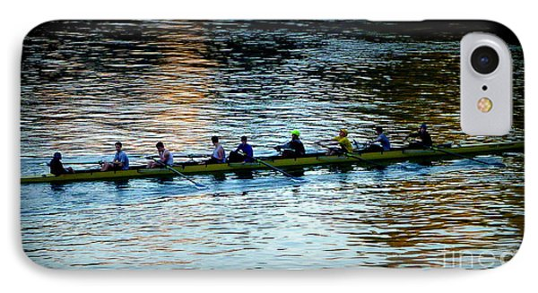 Rowing On The River Phone Case by Susan Garren