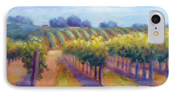 Rows Of Vines Phone Case by Carolyn Jarvis
