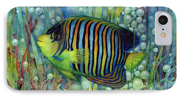 Royal Angelfish IPhone Case by Hailey E Herrera