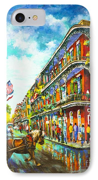 Royal Carriage - New Orleans French Quarter IPhone Case by Dianne Parks
