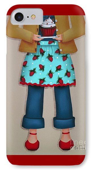 Ruby's Red Shoes IPhone Case by Catherine Holman