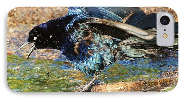 Ruffle My Feathers Phone Case by Lorri Crossno
