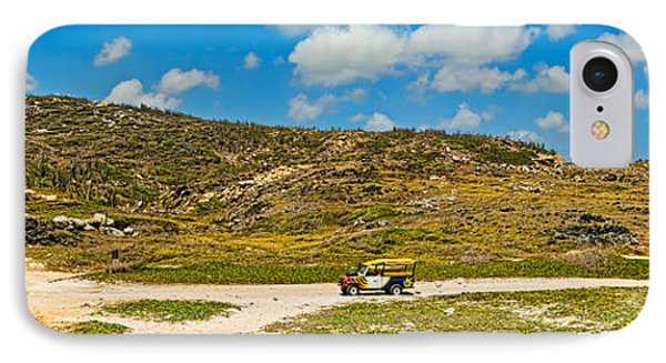 Rugged Eastern Side Of An Island, Aruba IPhone Case by Panoramic Images