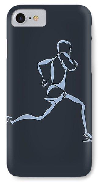Running Runner12 IPhone Case by Joe Hamilton