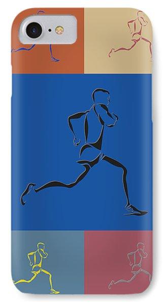 Running Runner2 IPhone Case by Joe Hamilton