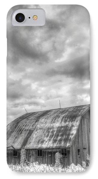 Rustic Barn IPhone Case by Jane Linders