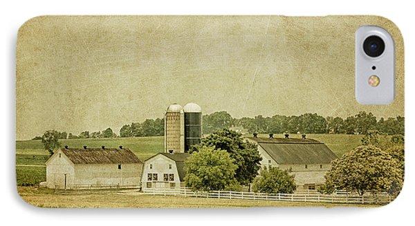 Rustic Farm - Barn IPhone Case by Kim Hojnacki