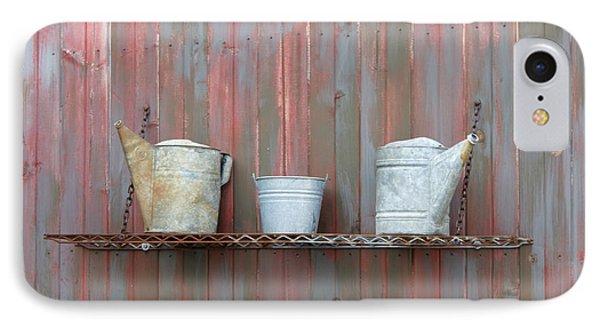 Rustic Garden Shelf Phone Case by Ann Horn