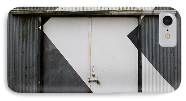 Rusty Door- Photographay IPhone Case by Linda Woods