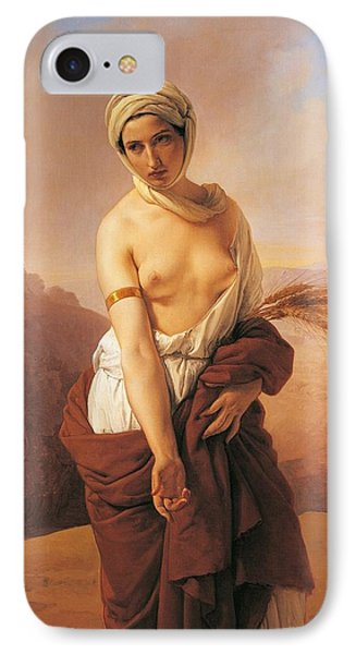 Ruth Phone Case by Francesco Hayez