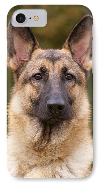 Sable German Shepherd Dog Phone Case by Sandy Keeton