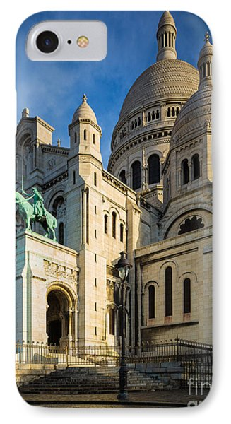 Sacre Coeur At Dawn Phone Case by Inge Johnsson