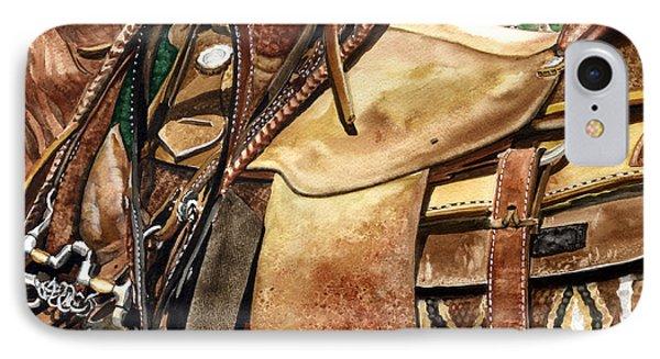 Saddle Texture Phone Case by Nadi Spencer