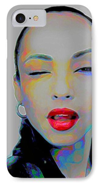Sade 3 IPhone Case by Fli Art