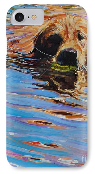 Sadie Has A Ball IPhone 7 Case by Molly Poole