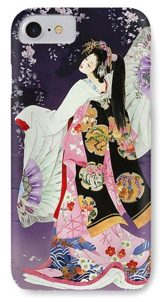 Sagi No Mai IPhone Case by Haruyo Morita