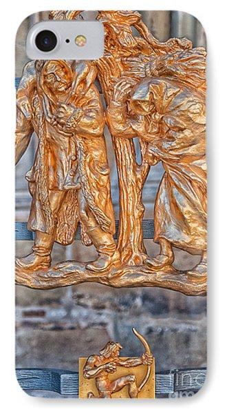 Sagittarius Zodiac Sign - St Vitus Cathedral - Prague IPhone Case by Ian Monk