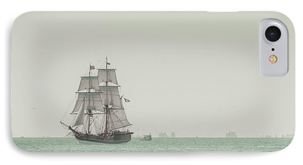 Sail Ship 1 IPhone Case by Lucid Mood