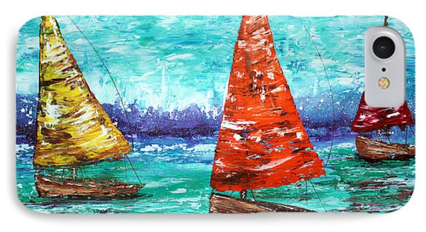 Sailboat Dreams IPhone Case by Laura Barbosa