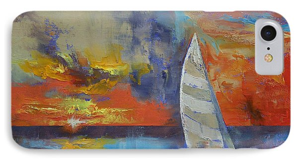 Sailboat IPhone Case by Michael Creese