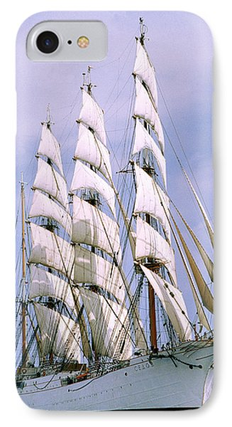 Sailing Ship IPhone Case by Anonymous