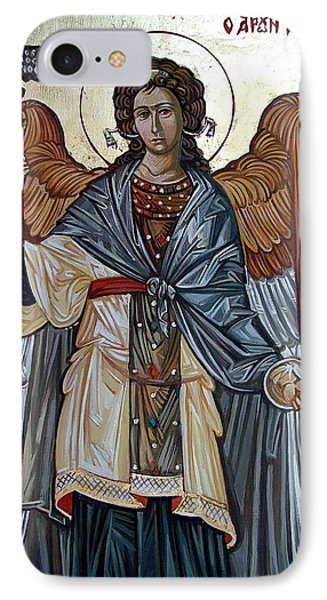 Saint Gabriel IPhone Case by Filip Mihail