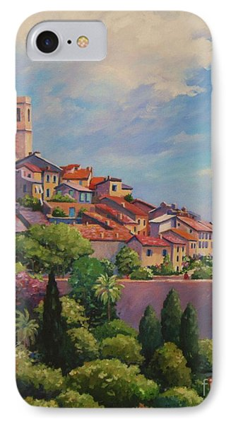 Saint Paul De Vence  Detail IPhone Case by John Clark