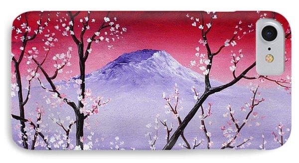 Sakura IPhone Case by Anastasiya Malakhova