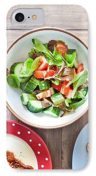 Salad IPhone Case by Tom Gowanlock