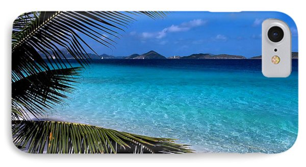 Saloman Beach - St. John IPhone Case by Stephen  Vecchiotti