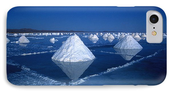 Salt Cones At Nightfall IPhone Case by James Brunker