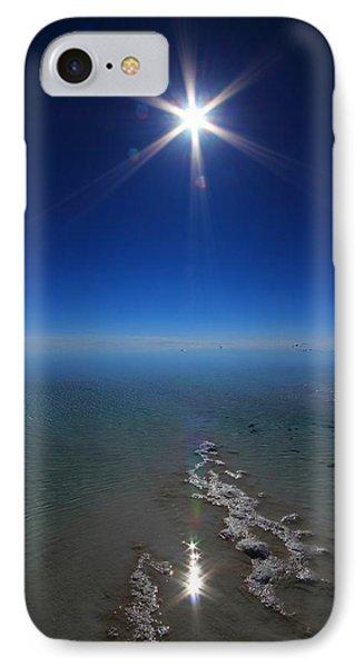 Salty Sun IPhone Case by FireFlux Studios