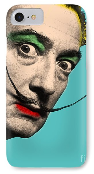 Salvador Dali IPhone Case by Mark Ashkenazi
