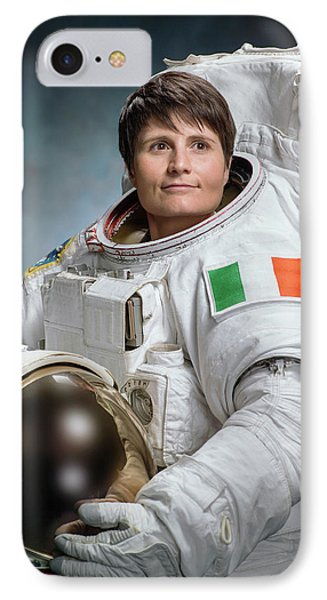 Samantha Cristoforetti IPhone Case by Nasa