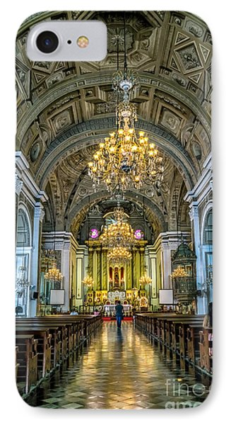 San Agustin Church  IPhone Case by Adrian Evans