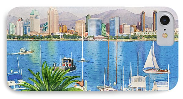 San Diego Fantasy IPhone 7 Case by Mary Helmreich