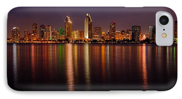 San Diego Skyline Phone Case by Peter Tellone
