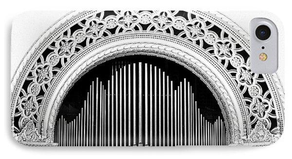 San Diego Spreckels Organ Phone Case by Christine Till