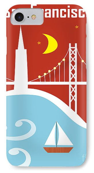San Francisco Bay IPhone Case by Karen Young
