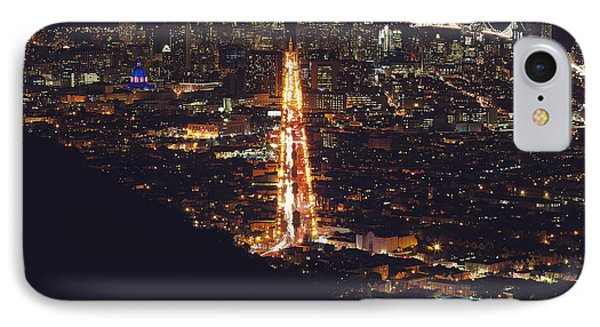 San Francisco Skyline  IPhone Case by Kenny Noddin