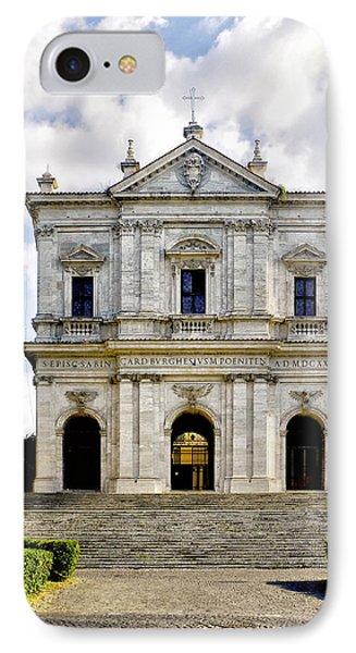 San Gregorio Magno Al Celio IPhone Case by Fabrizio Troiani