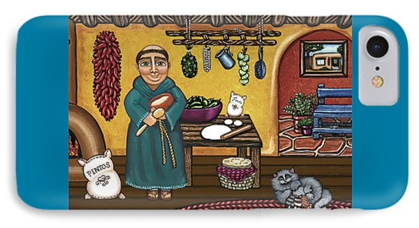San Pascuals Kitchen IPhone Case by Victoria De Almeida