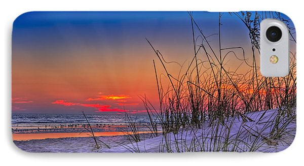 Sand And Sea IPhone 7 Case by Marvin Spates