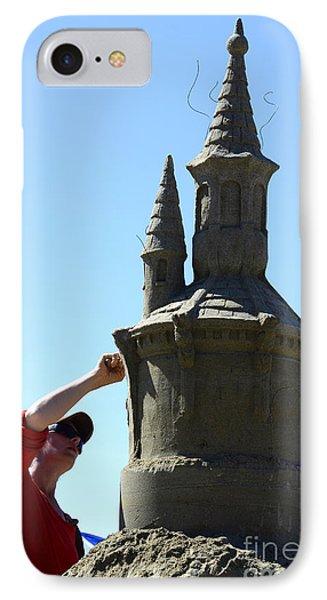 Sand Castle 1 Phone Case by Bob Christopher