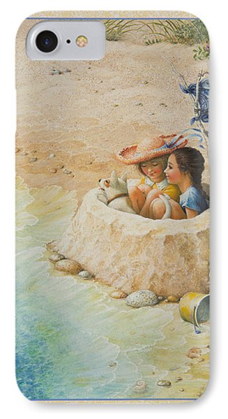 Sand Castle IPhone Case by Lynn Bywaters