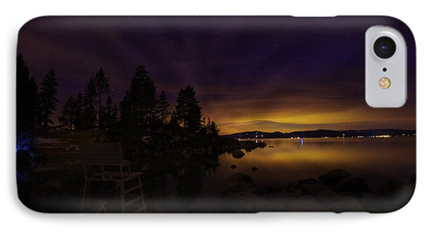 Sand Harbor Lake Tahoe Astrophotography Phone Case by Scott McGuire