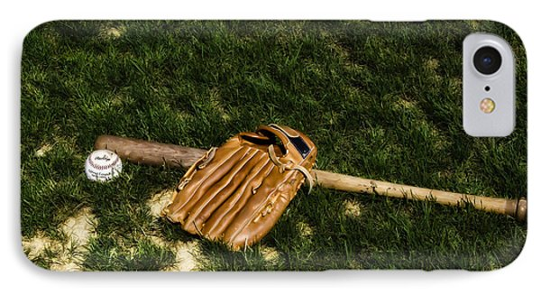 Sand Lot Baseball Phone Case by Bill Cannon