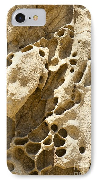Sandstone Rock Formation Two At Big Sur  Phone Case by Artist and Photographer Laura Wrede